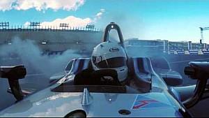 Senna vs Speed in The Chase: Drone vs Formula E car