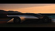 La Faraday Future FFZERO1 in azione