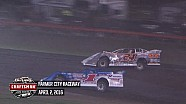 Highlights: World of Outlaws Craftsman Late Models Farmer City Raceway April 2nd, 2016