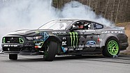 Vaughn Gittin Jr. Tests 900 hp Ford Mustang RTR