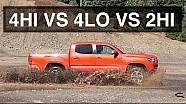 4Hi vs 4Lo vs 2Hi - 4X4 Offroad Testing