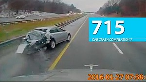 Car Crash Compilation # 715 - April 2016