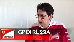 Il GP di Russia con Mattia Binotto - Scuderia Ferrari 2016