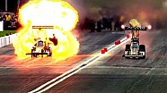 Huge fire for Top Fuel pilot McMillen at the Spring Nationals in Houston