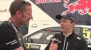 World RX Hockenheim - Interview with Mattias Ekstrom
