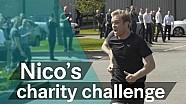 Rosberg ve Mercedes'in eğlenceli koşusu