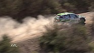 Acropolis Rally - SS1 Action from Helicopter