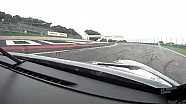 A bordo della Porsche 911 della Proton