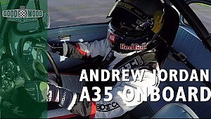 On Board: Andrew Jordan Wrestles Austin A35 Wet Lap