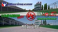 iRacing, gerçek hayata karşı : Imola