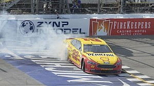 Joey Logano Grabs Multiple Milestone Victory at Michigan
