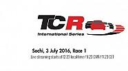 Наживо: TCR - Перша гонка в Сочі