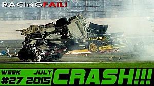 Racing and Rally Crash Compilation Week 27 July 2015