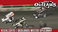 World of Outlaws Craftsman Sprint Cars Badlands Motor Speedway July 3rd, 2016 | HIGHLIGHTS