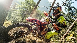 Romaniacs offroad day 1: Hard Enduro riders rip through the countryside
