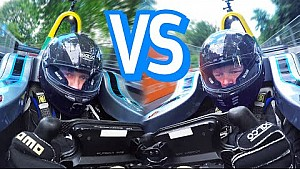 Mr JWW vs Shmee150 - Formula E Lap Battle
