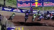 Washougal 250 Moto 2: Holeshot & pile up