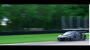 Acura — GT3 NSX Racer Testing Debut