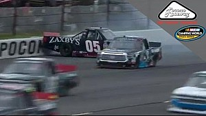 Townley, Bell wreck at Pocono