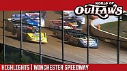 World of Outlaws Craftsman Late Models Winchester Speedway August 13th, 2016 | HIGHLIGHTS