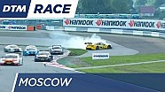 Glock spins out - DTM Moscow 2016