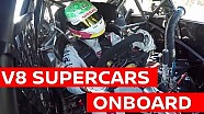 Onboard Cam - Michael Caruso Aussie Supercar!  - V8SC
