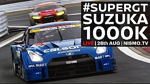 Live: 2016 Super GT Rd. 6 - Suzuka - 1000k