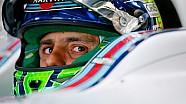 Williams: gracias Felipe Massa