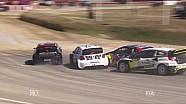 Timur Timerzyanov Crash Q1: Loheac RX   FIA WorldRX