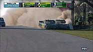 Final de locos y pelea en NASCAR Canadá