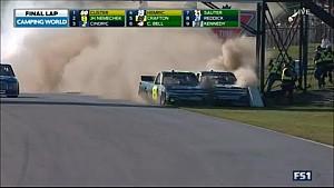 Insane finish followed by fight in NASCAR CTMP race