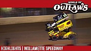 World of Outlaws Craftsman Sprint Cars Willamette Speedway September 7th, 2016 | Highlights