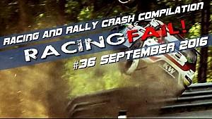 Racing and Rally Crash Compilation Week 36 September 2016
