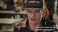 Max Verstappen Interview Pre Malaysian & Japanese GP, 26/09/2016