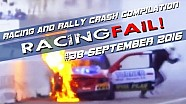 Racing and Rally Crash Compilation Week 38 September 2016