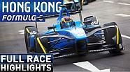 ePrix di Hong Kong: la gara