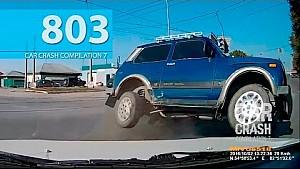Car Crash Compilation # 803 - October 2016 (English Subtitles)