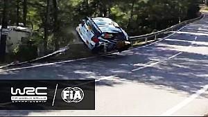 Rally de España 2016: Andreas Mikkelsen crash on SS12