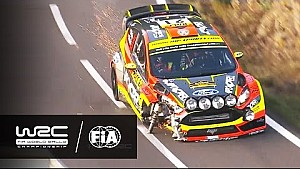 WRC - RallyRACC Catalunya - Rally de España 2016: Highlights Stages 15-19
