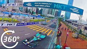 ePrix di Hong Kong: la gara a 360°