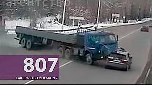 Car Crash Compilation # 807 - October 2016 (English Subtitles)