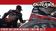 DIRT Track Racing: Why Sprint Car Crew Members Do It
