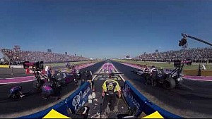 WATCH Brown v. Torrence from the NHRA #MelloYello360 camera