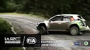 Büyük Britanya, Galler Rallisi 2016: WRC2 1. Gün Özeti