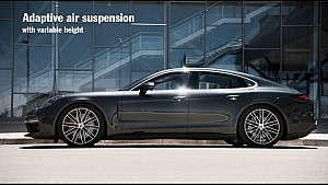 The new Porsche Panamera – Chassis systems