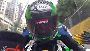 Crash Horst Saiger at Macau