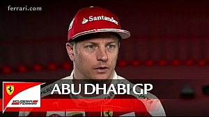 The Abu Dhabi GP with Kimi Raikkonen - Scuderia Ferrari 2016