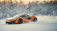 McLaren 570S auf Eis
