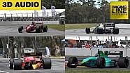 Old school Formule 1-geluid