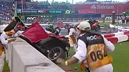 Pascal Wehrlein Race of Champions crash